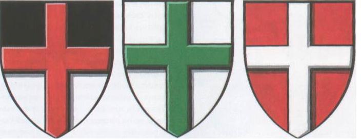 гербы рыцарей средневековья
